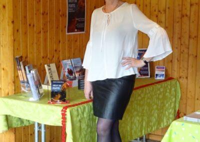 Vernissage Délit de fuite de Catherine Gaillard-Sarron à Chamblon