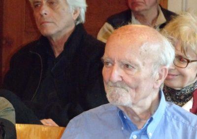 Ive Favre, Vernissage Délit de fuite de Catherine Gaillard-Sarron à Chamblon