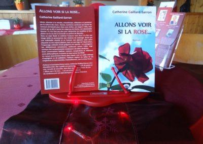 Vernissage Allons voir si la rose 7.11.15