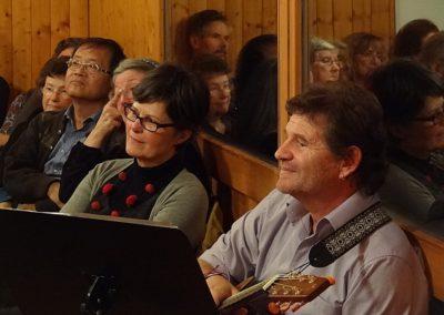 Vernissage La fenêtre aux alouettes et Paquet surprise à Chamblon