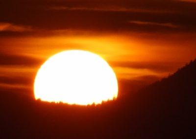 Soleil coucher 30.10.15