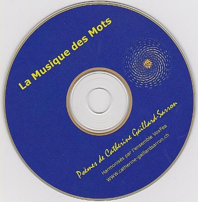 CD La musique des mots