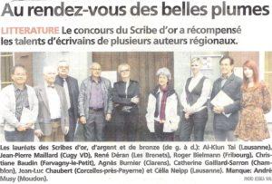 2.5.13 La Broye 11e Scribe d'or