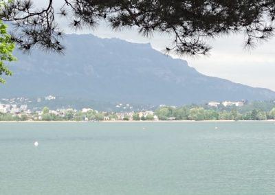 Aix les Bains lac 5.5.15