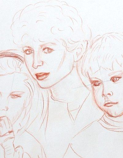 Alex, Stef et maman 2