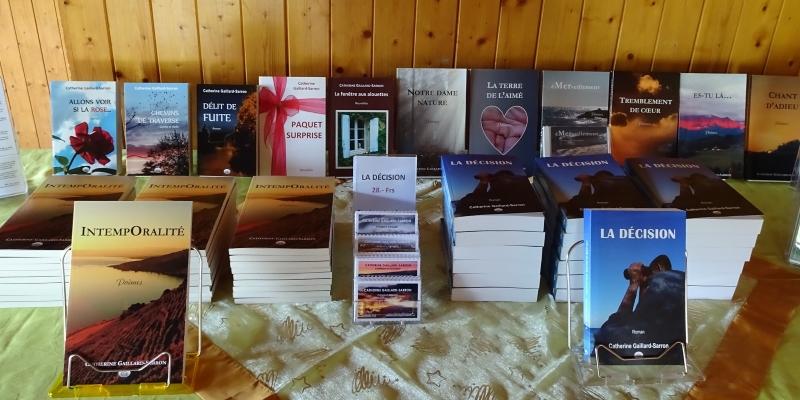Livre autoédition de Catherine Gaillard-Sarron