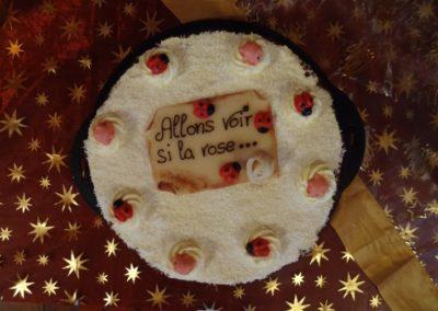 Vernissage Allons voir si la rose, Chamblon 7.11.15