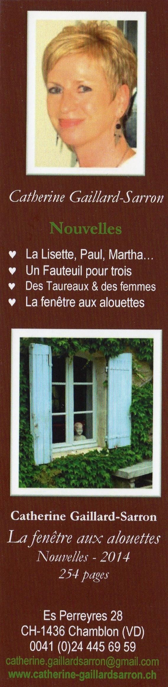 Signet La Fenêtre aux alouettes