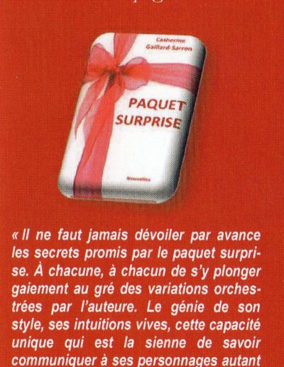 Signet Paquet surprise