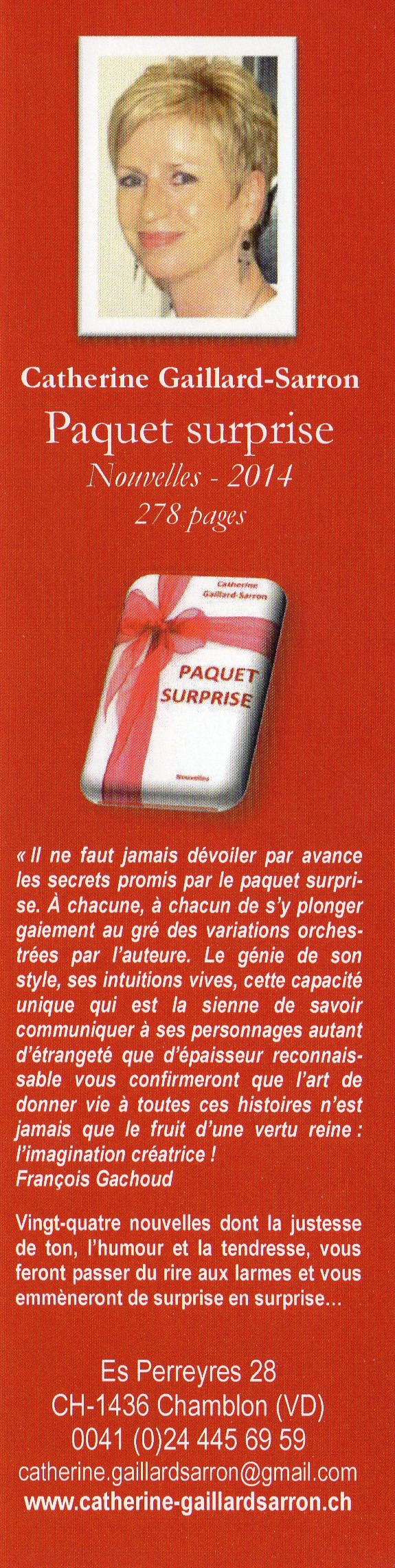 Signet Paquet surprise