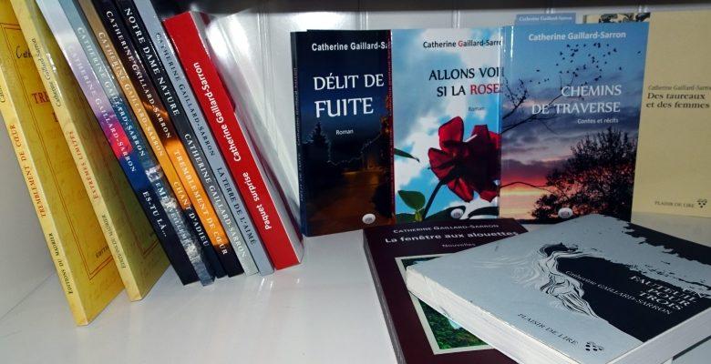 Billets Daniel Fattore sur les ouvrages de Catherine Gaillard-Sarron