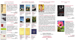 Prospectus 2019 Catherine Gaillard-Sarron