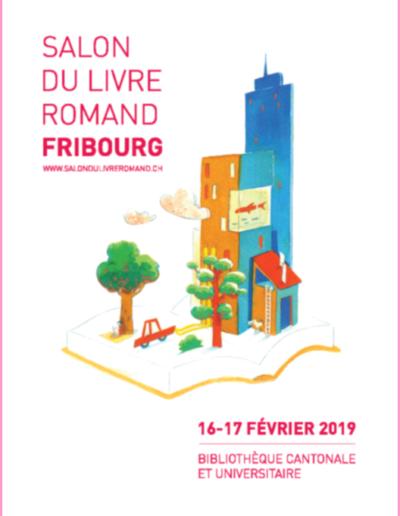 Affiche salon romand Fribourg 2019