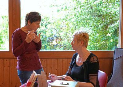 Vernissage Mme Serpit-Coht et Le baiser du bourdon 18.5.19
