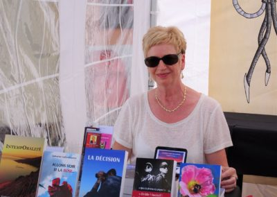 Catherine Gaillard-Sarron à St Pierre de Clages 23.8.19