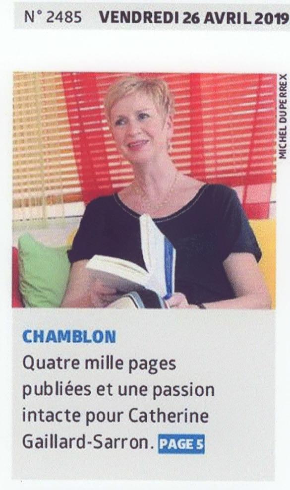Catherine Gaillard-Sarron La Région_26.10.19