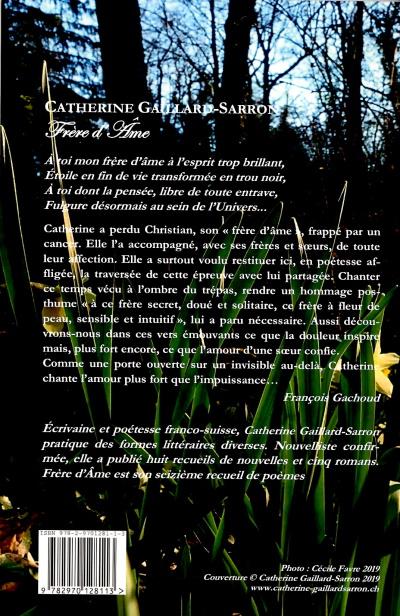 Frère d'Âme de Catherine Gaillard-Sarron