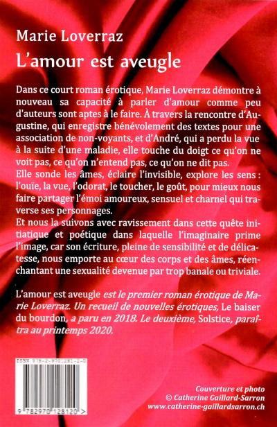 L'amour est aveugle de Catherine Gaillard-Sarron