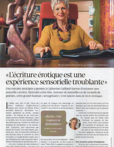 Catherine Gaillard-Sarron Magazine Générations avril 2020