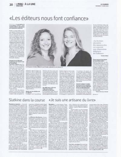 Le Courrier_Anne Pitteloud_Autoédition_13.3.20